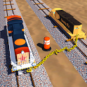 Chained Trains - Impossible Tracks 3D icon