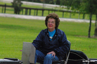 Photo: Virginia Freitag, now the engineer.   2009-1127 HALS Anniversary Meet