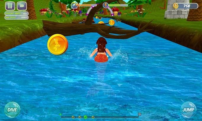 Fancy Mermaid Race Adventures- screenshot thumbnail