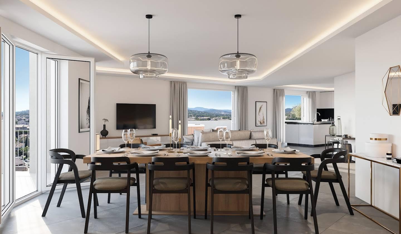 Appartement contemporain avec terrasse Sainte-Maxime