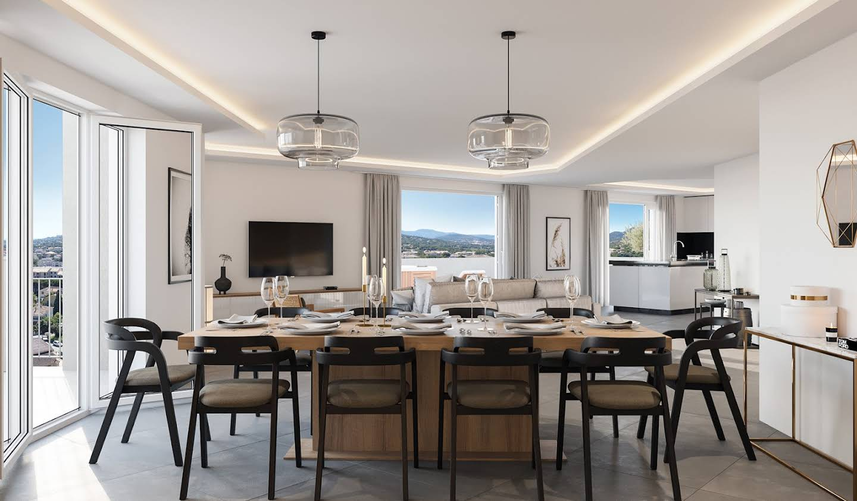 Contemporary apartment with terrace Sainte-Maxime