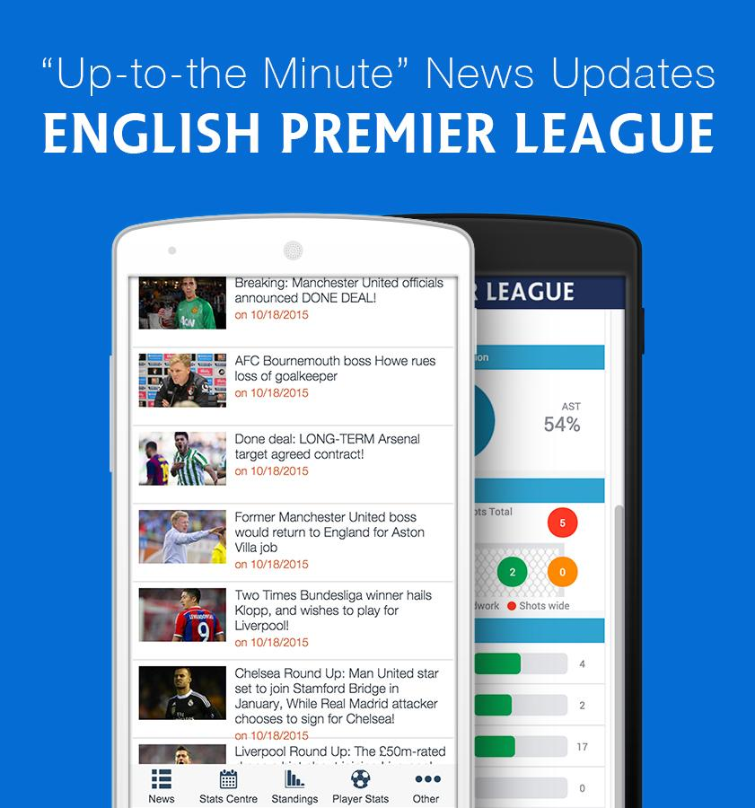 EPL News- screenshot