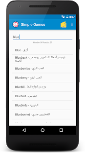 Simple Qamos English Arabic- screenshot thumbnail