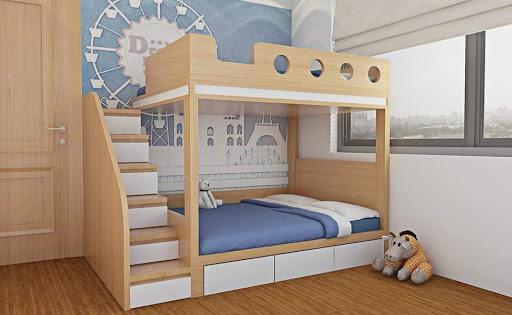 Ưu điểm giường tầng trẻ em