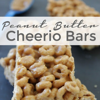 Peanut Butter Cheerio Bars Recipe!