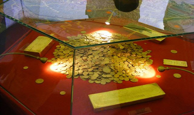 TREASURY ROOM AT MUSEUM OF ROMANIAN NATIONAL BANK