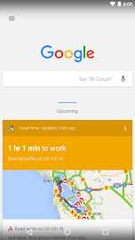 Google Now Launcher Screenshot 2