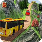 Simulate Hill Tourist Bus: Bus Driving Games