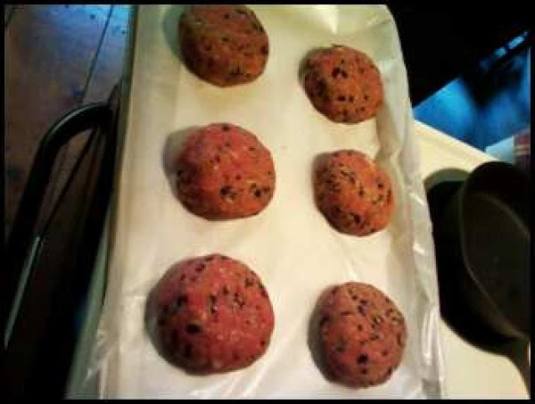I made 6 burgers with this recipe.  You can make them smaller or...