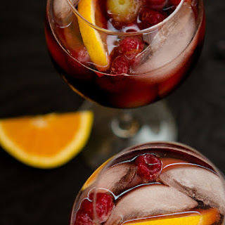 Spiced Pomegranate Sangria