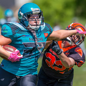 Gridiron Victoria by John Torcasio - Sports & Fitness American and Canadian football ( football, falcons, gridiron victoria, miners, women's )