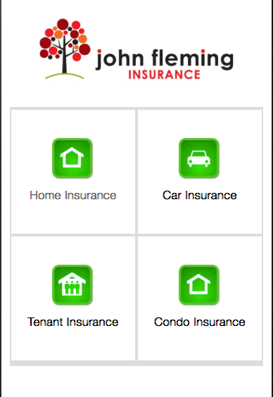 John Fleming Insurance Agency- screenshot