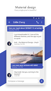 QKSMS - Open Source SMS & MMS Screenshot