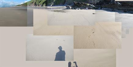 Photo: Whitsand Bay beach on bank holiday Monday (empty)!