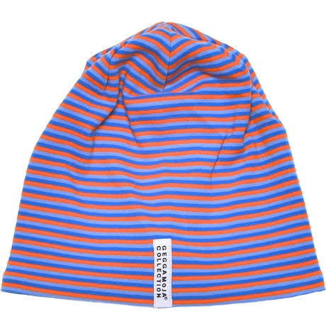 Geggamoja Mössa 3 Striped Blue