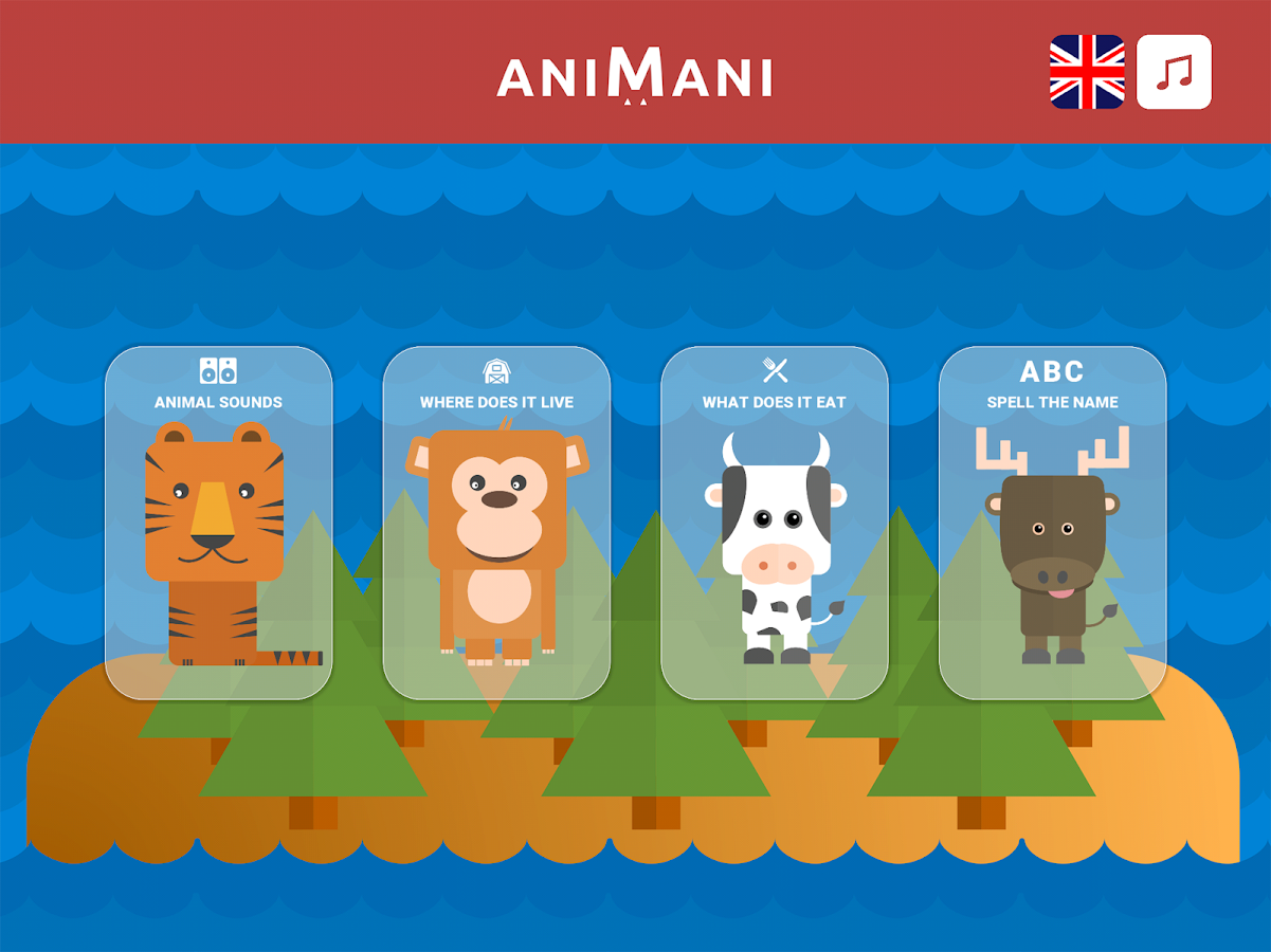 Animani - Learn about animals!- screenshot