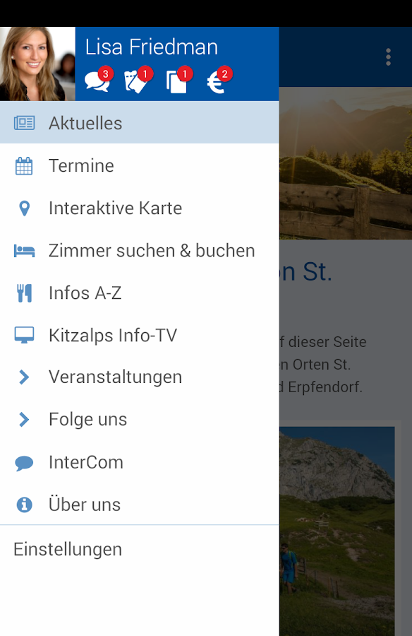 St. Johann in Tirol- screenshot