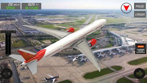extreme airplane simulator 2019 pilot flight games screenshot 2