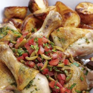 Lemon and Garlic Baked Chicken.