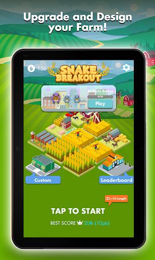 Snake Breakout: Fun PvP Battle Arcade Racing Games screenshots 11