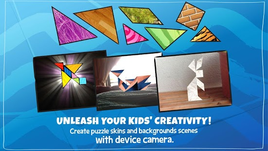 Kids Tangram Puzzles: Ships- screenshot thumbnail