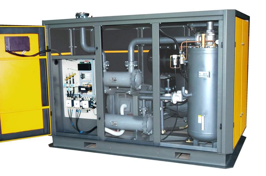 Cấu tạo máy nén khí trục vít - thiết bị thông dụng trong ngành công nghiệp.