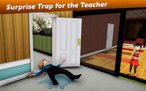 Crazy Scary Evil Teacher 3D - Spooky Game 1.1 screenshots 3