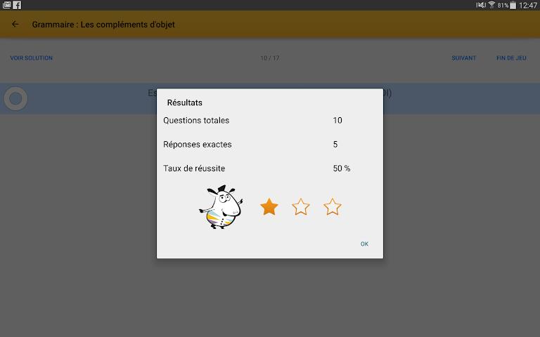 android Exogus CM2 Révision français Screenshot 10
