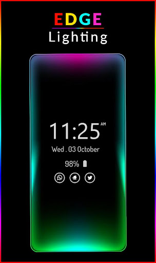 Edge Lighting Live Wallpaper s9 App Report on Mobile Action