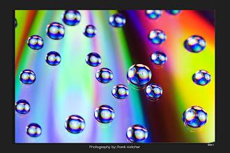 Photo: Water drops on a dvd.   http://www.hatch1921.com