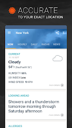 AccuWeather: Weather Alerts & Live Storm Radar APK screenshot thumbnail 1