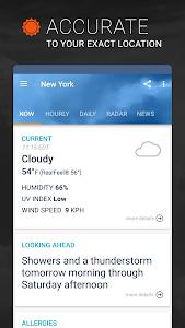 AccuWeather: Weather Alerts & Live Storm Radar 5.9.9 (Unlocked)