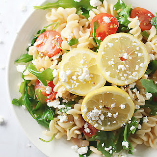 Gluten Free Arugula Pasta Salad Recipe