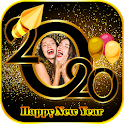 New year photo editor : new year photo maker icon