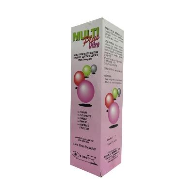 solución limpiadora para lentes multiplus ultra 360 ml