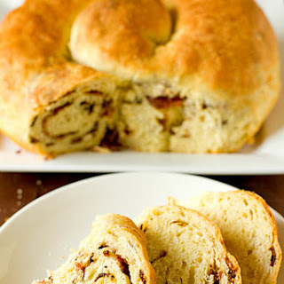 Grandma's Bacon and Cheese Easter Bread