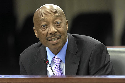 Suspended Sars commissioner Tom Moyane