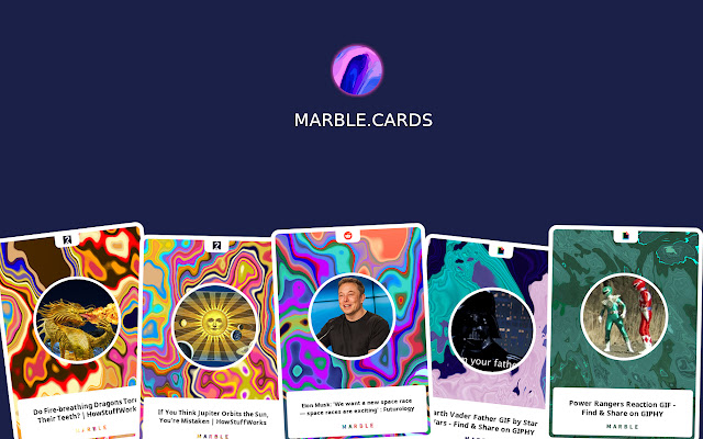 Marble.Cards