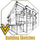 Drawing Building Sketches icon