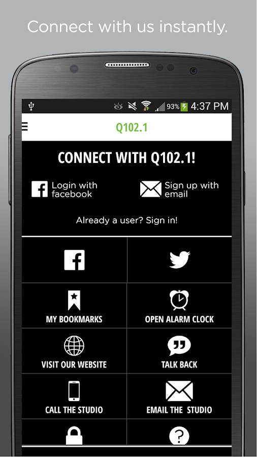 Q102.1- screenshot