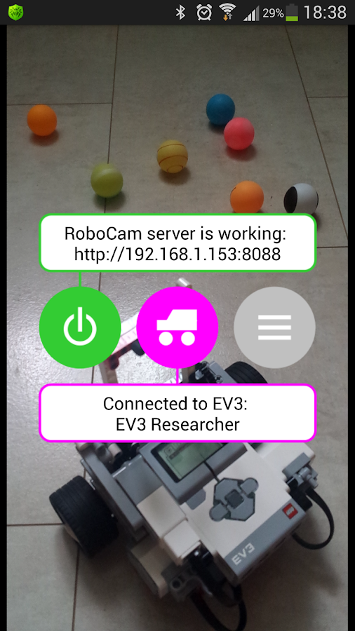 RoboCam- screenshot
