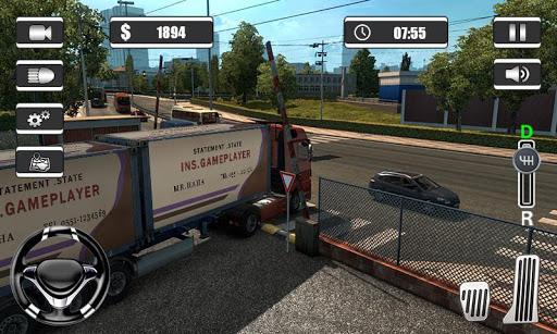 Extreme Truck Simulator 2019 - Real Cargo Truck  captures d'écran 1