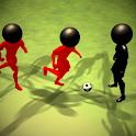 Stickman Summer Football (Soccer) 3D icon