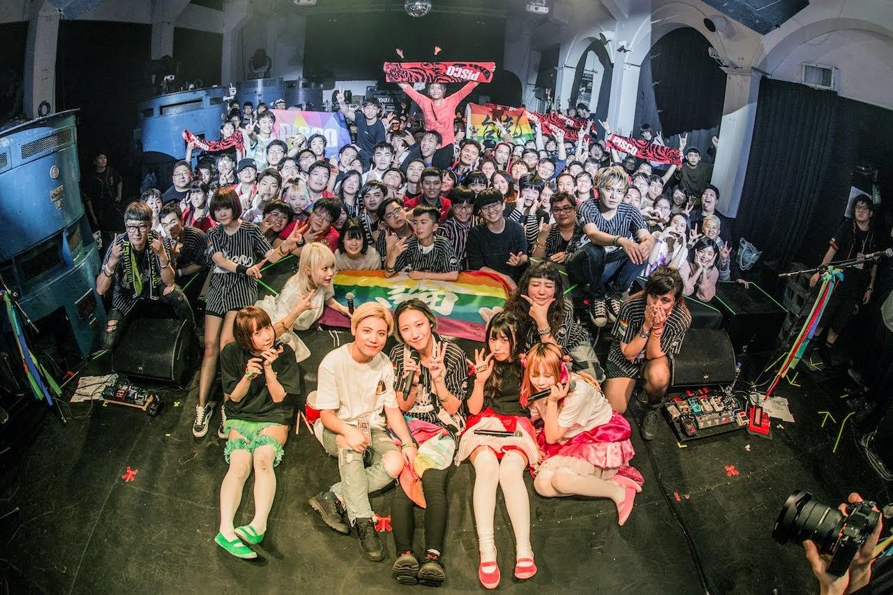 【迷迷現場】P!SCO 邀日本團 ぜんぶ君せいだ。 共演 九週年台北場完售大爆棚