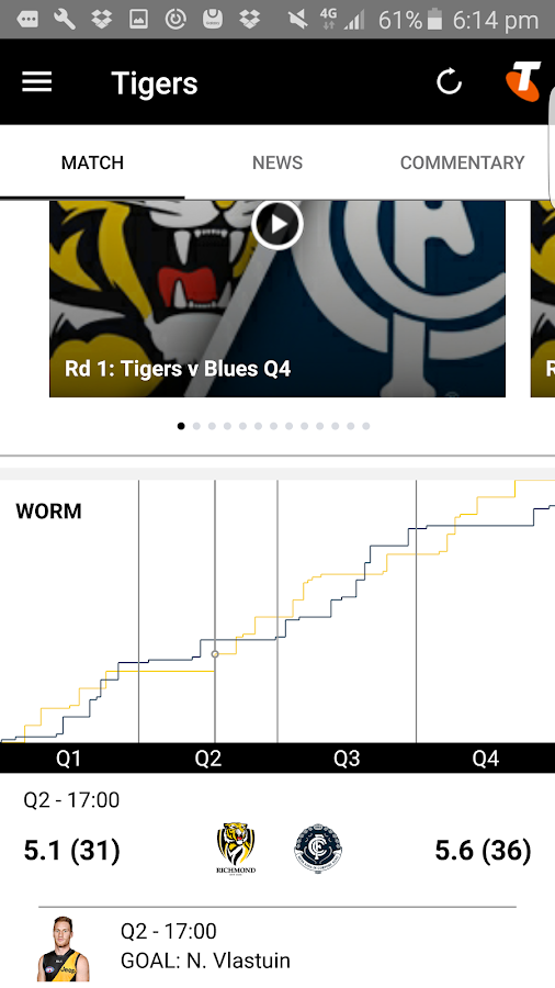 Richmond Official App- screenshot