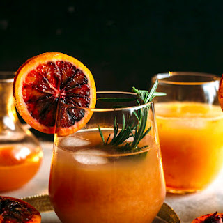 Boozy Blood Orange Punch Recipe