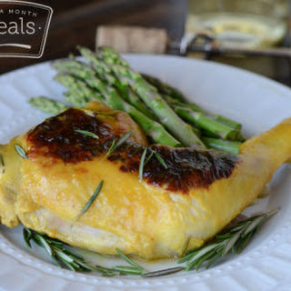 Pan Seared Rosemary Apricot Chicken
