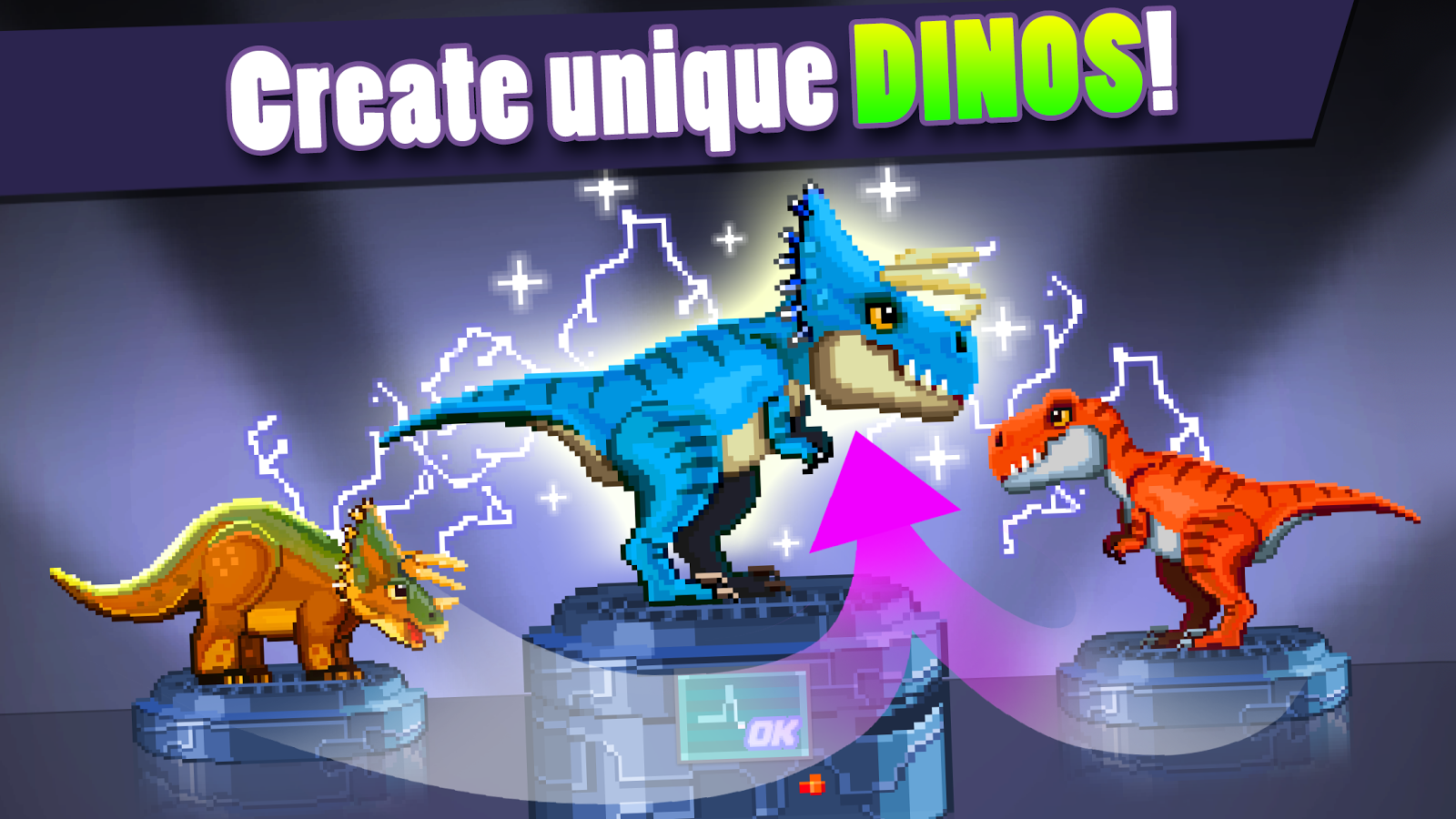 Dino Factory- screenshot