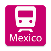 Mexico City Rail Map