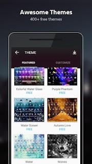 TouchPal Emoji Keyboard screenshot 01